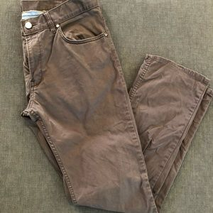 brown Hugo Boss pants